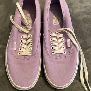 Light Purple Vans